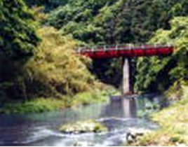 たいら栗園近くの橋の写真